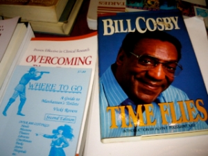 This book made me have strange dreams about Bill Cosby and Jell-O pudding.